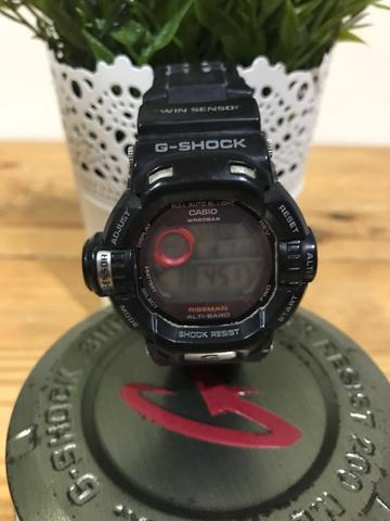 Jual BU G-Shock Riseman ORI G-9200 Hitam Lengkap