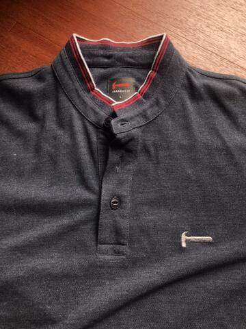 Poloshirt cowok Hammer kerah tegak 2nd 100% ori like new