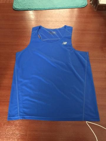 Singlet Gym New Balance 2nd 100% original like new