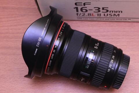 Canon EF 16-35mm F2.8 L II USM Mulus Fullset Ex Ds