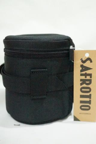 Safrotto Padded Camera Lens Pouch Protector Bag Case Cover - Small D 10cm x T 12.5cm