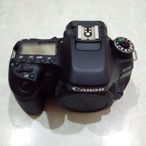 [CAKIM] WTS Canon EOS 80D body only mulus bonus memory