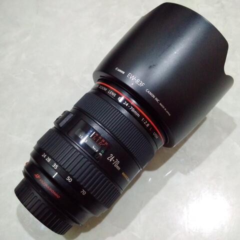 [CAKIM] WTS lensa Canon EF 24-70mm F2.8 L USM kode UZ mulus sekali