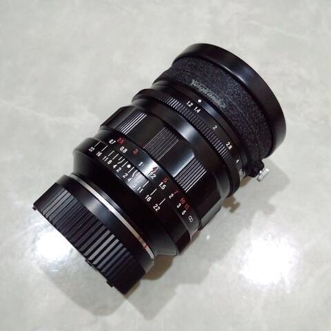 [CAKIM] WTS lensa Voigtlander Nokton 35mm F1.2 for Leica M like new