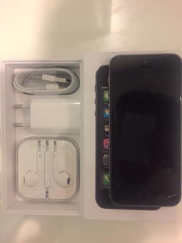 dijual iphone 5s 16gb spacegrey murah like new!