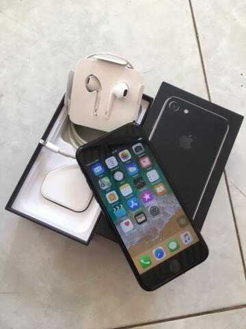 iphone 7 128gb jetblack minus