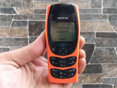 Nokia 2300 Orange Normal Hp Jadul Klasik Antik Handphone Nostalgia