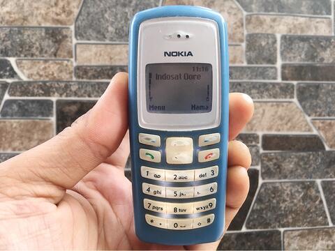 Nokia 2100 Biru Normal Hp Jadul Klasik Antik Handphone Nostalgia