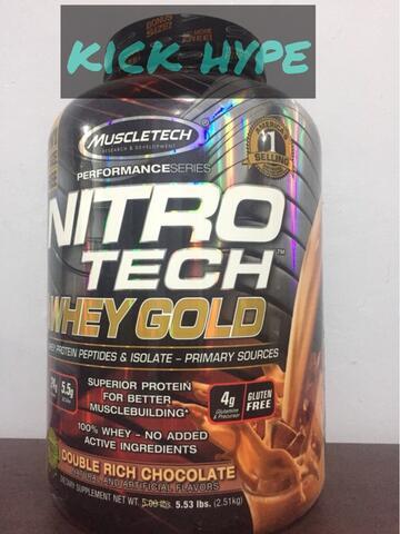 nitro whey gold