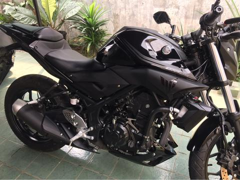 YAMAHA MT25 HITAM (OVER KREDIT)