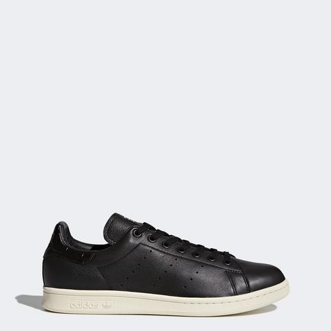 Adidas Men Stan Smith Shoes Black White Ivory Originals