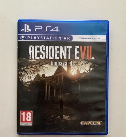 BD Kaset Game PS4 Resident Evil 7