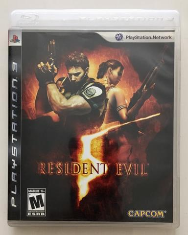 BD Kaset Game PS3 Resident Evil 5