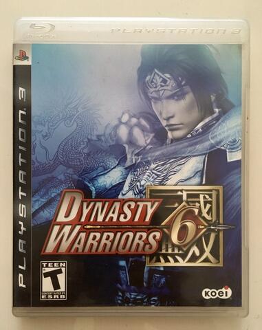 BD Kaset Game PS3 Dynasty Warriors 6