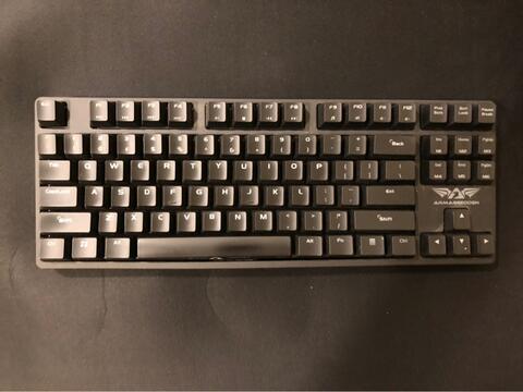 armaggeddon Black Hornet MKA-3 keyboard gaming bukan razer