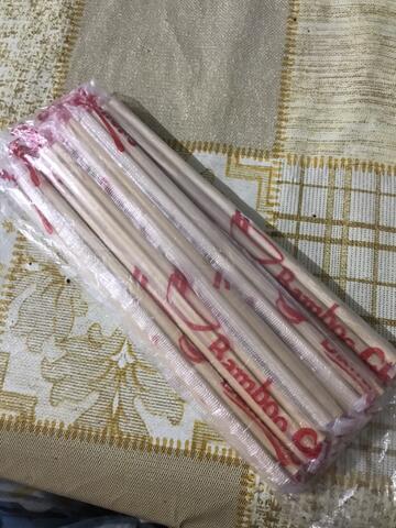 Sumpit Bambu Cap Mangkok