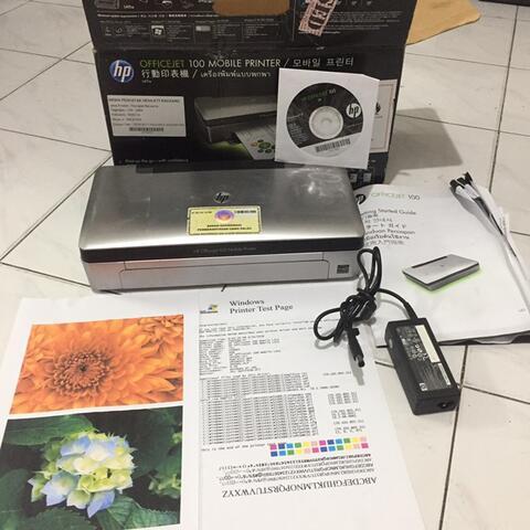 Mobile Printer Hp Officejet 100 Portaible