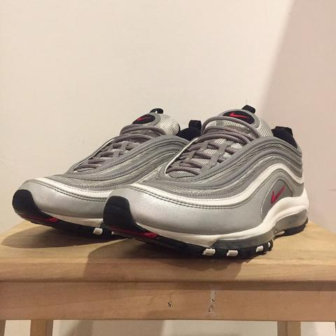 nike air max 97 silver bullet (not adidas, yeezy, new balance, champion, carhartt)
