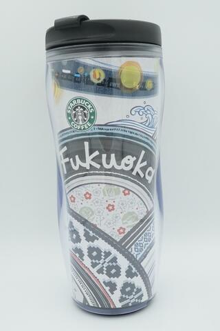 Starbucks Tumbler Fukuoka - Japan - Iconic City - Ada Dent Kecil