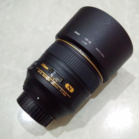 [CAKIM] WTS lensa Nikon AF-S 85mm F1.4 G Nano like new