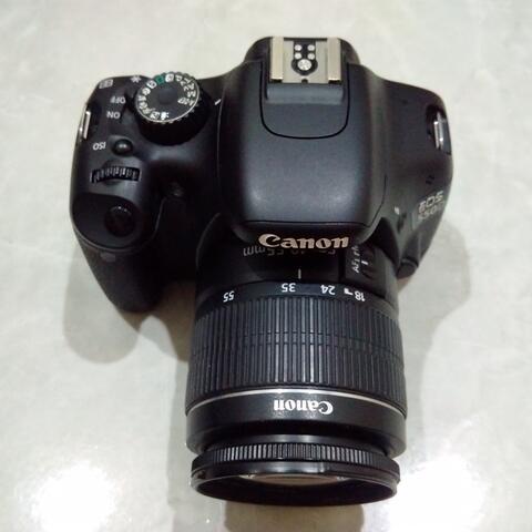 [CAKIM] WTS Canon EOS 550D kit 18-55mm mulus sekali SC 7ribuan