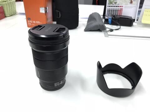 Lensa Sony 18-105mm F4 G OSS