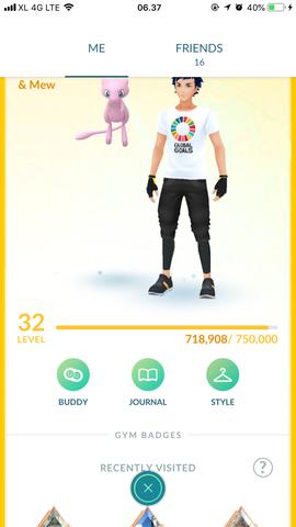 Akun Pokemon Go Mew & Mewtwo + Shiny edition