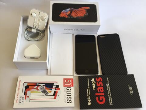 iphone 6s plus grey 64gb apa adanya malang