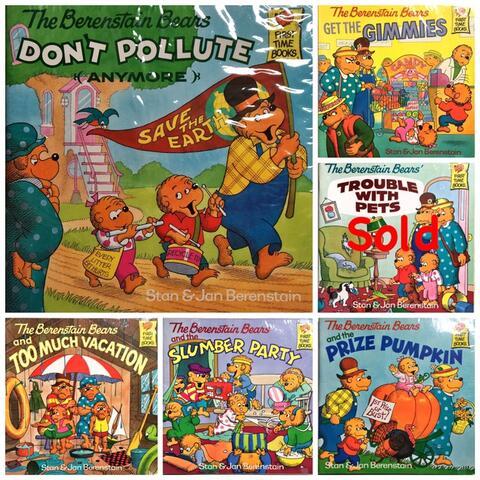 Buku Cerita Anak Bahasa Inggris - The Berenstain Bears