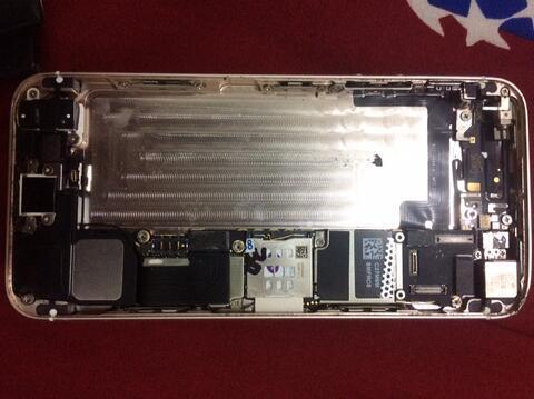 housing iphone 5s gold ( ori copotan )