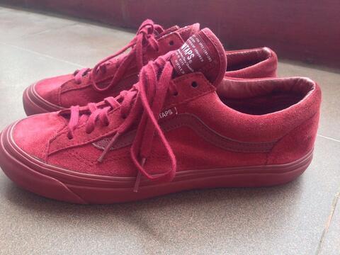 Vans WTAPS Style 36 OG LX Burgundy Size 39