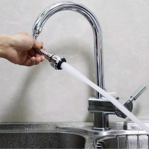 Sambungan Keran Kran Air Faucet Flexibel Shower Head Water Saving