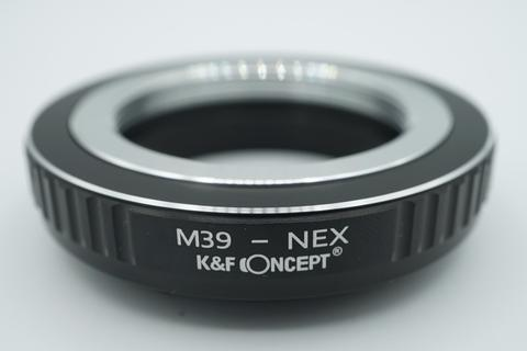 K&F Lens Adapter - Leica L39 M39 39mm To Sony E mount Nex / M39 - Nex
