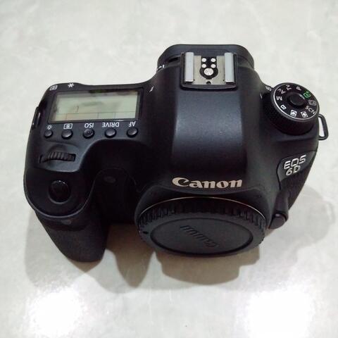 [CAKIM] WTS Canon EOS 6D Non WIFI SC 7ribuan bonus baterai ori murah