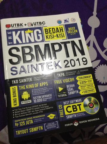THE KING SBMPTN SAINTEK 2019 - Best Seller