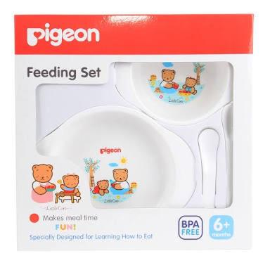 Pigeon | Baby Feeding Set / Alat Makan Bayi