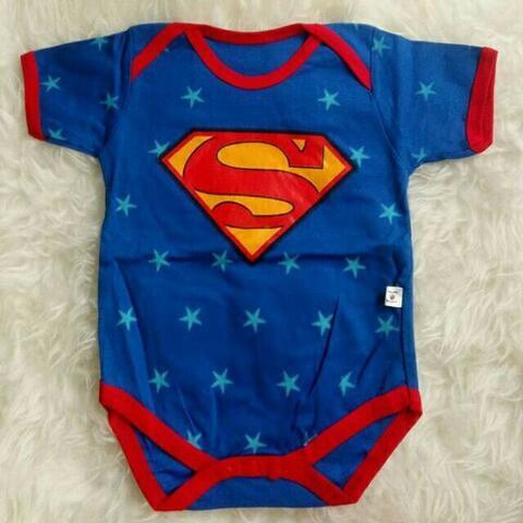 Jumper Bayi Karakter Superman 3-6 Bulan