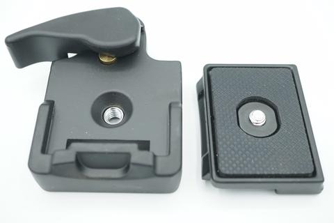 Manfrotto Tripod - Camera 323 Quick System Release Adapter - Black