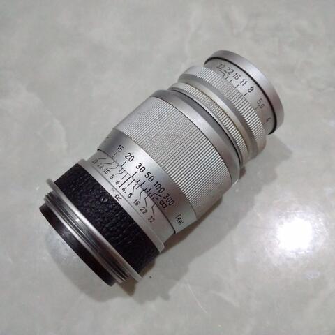 [CAKIM] WTS lensa Leica Leitz Elmar 9cm F4 mount LTM