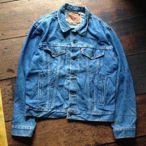 WTS Jeans Trucker Levis USA