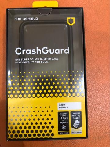 RHINOSHIELD CrashGuard Bumper Case iPhone 7/8 - Black