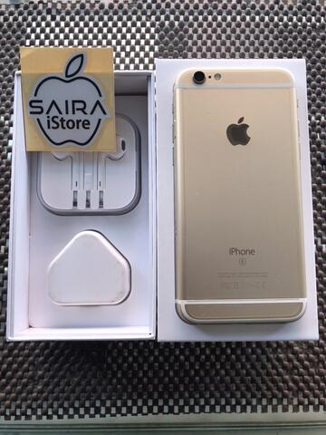 iPhone 6S 64GB Gold Ex Singapore