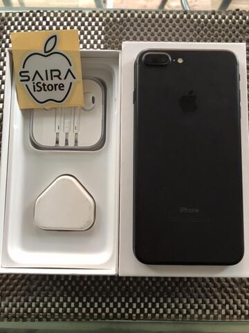 iPhone 7Plus 32GB Black Matte Ex Malaysia
