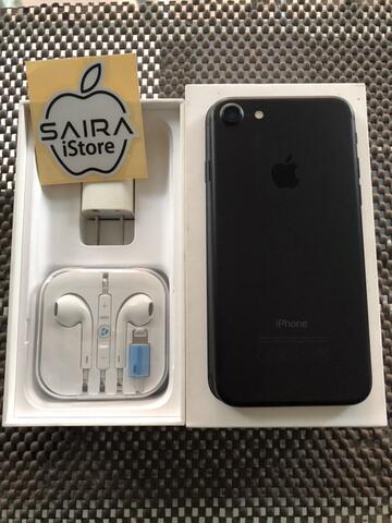 iPhone 7 128GB Black Matte Ex Singapore