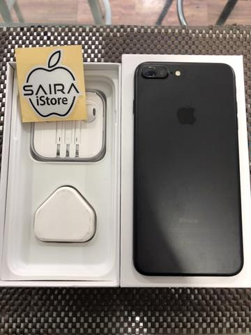 iPhone 7Plus 128GB Black Matte Ex Singapore