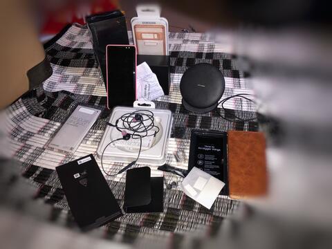 Samsung Galaxy Note 8 64gb Black ex pemakaian pribadi (cewek)