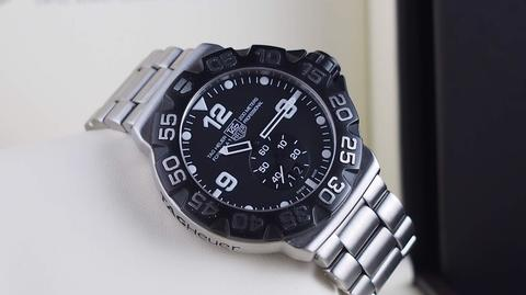 TAG HEUER FORMULA1 GRANDE DATE BLACK QUARTZ 44mm