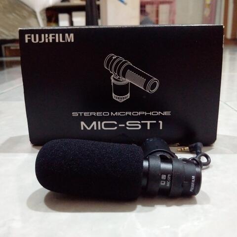 [CAKIM] WTS Fujifilm Stereo Microphone MIC-ST1 like new