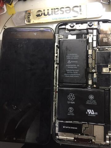 jasa service perbaikan lcd iphone X READY STOCKO ORIGINAL