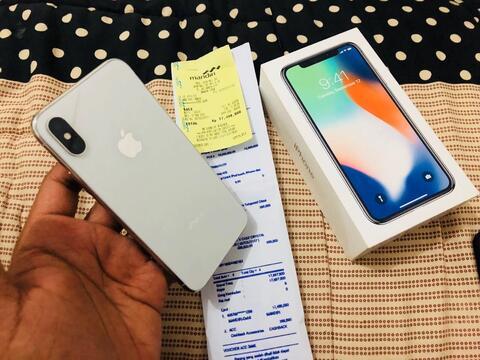 Terjual Iphone X 64gb Garansi Resmi Ibox Maret 2019 Mulus 99 Note